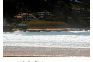 Mar y olas en Playa América