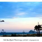 Peñíscola desde la playa