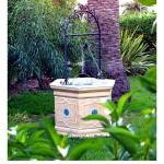 Pozo artesano en jardín en Peñíscola – Foto Manuel Ramallo