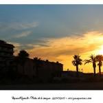 Puesta de sol en Peñíscola – Foto Manuel Ramallo
