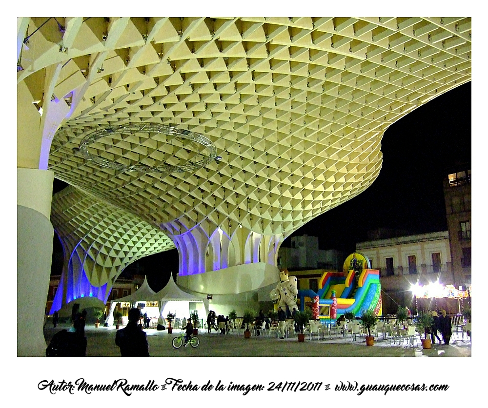 Setas de la Plaza Mayor De Sevilla