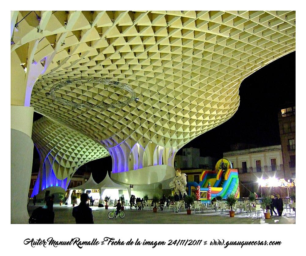 Setas de la Plaza Mayor De Sevilla