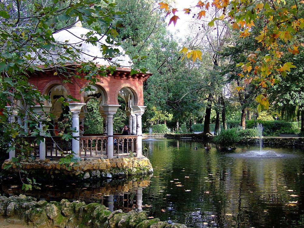 Sevilla templete parque María Luisa