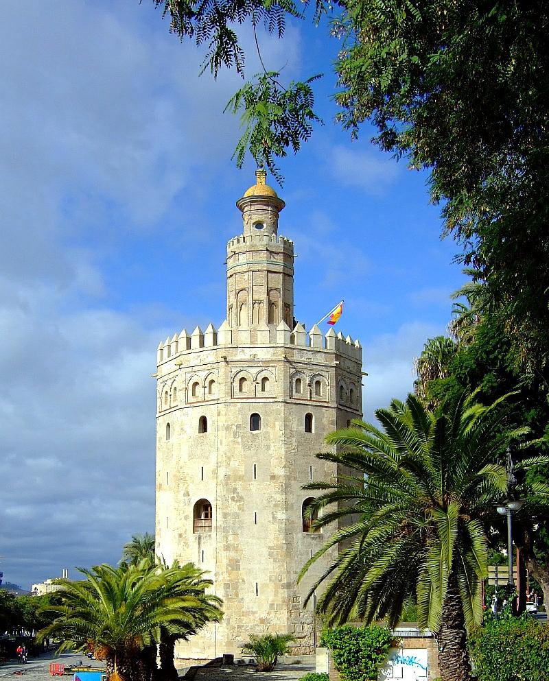 Torre del Oro en Sevilla Andalucía