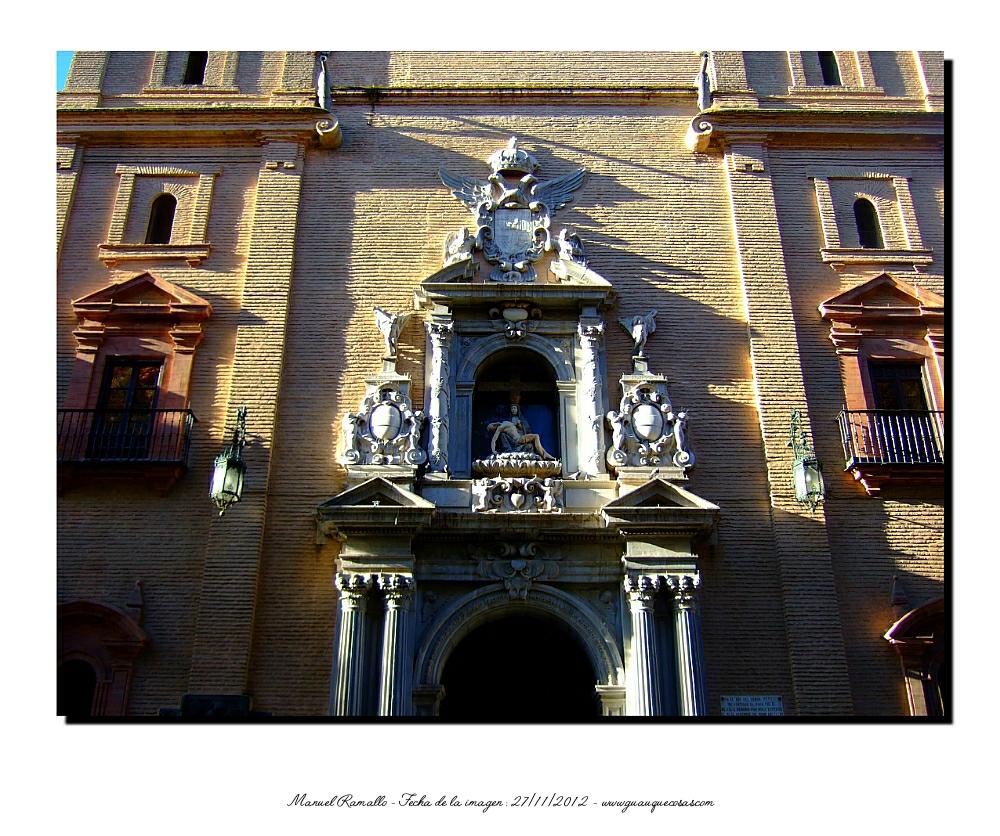 Basílica Nuestra Señora de las Angustias Fachada Granada - Imagen: Manuel Ramallo
