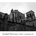 Casco antiguo de Oviedo ciudad B&W blanco y negro – Imagen: Manuel Ramallo