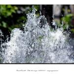 Chorro agua fuente parque San Lázaro de Orense – Imagen: Manuel Ramallo
