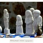 Esculturas en granito Vilanova dos Infantes Raigame 2016 – Imagen: Manuel Ramallo
