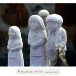 Esculturas en piedra granito en Vilanova dos Infantes Celanova Galicia – Imagen: Manuel Ramallo