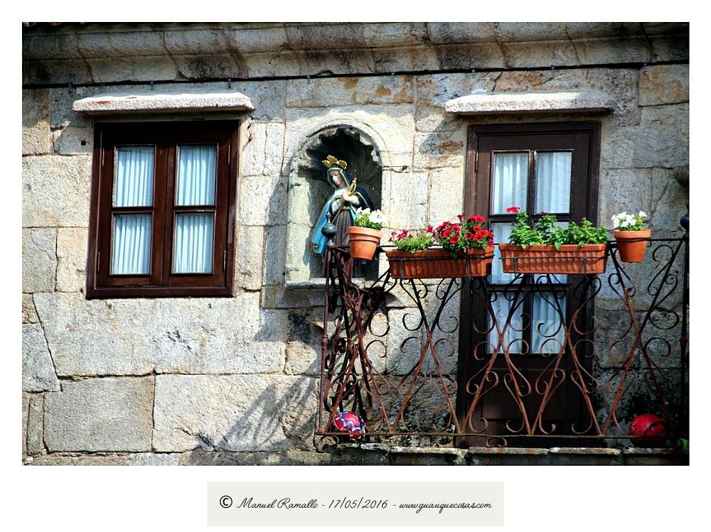 Fachada casa Vilanova dos Infantes Raigame - Imagen: Manuel Ramallo
