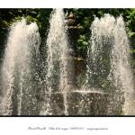 Fuente del parque de San Lázaro con los chorros de agua Orense – Imagen: Manuel Ramallo