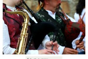 Gaitas y saxofón Raigame 2016 Vilanova dos Infantes Celanova – Imagen: Manuel Ramallo