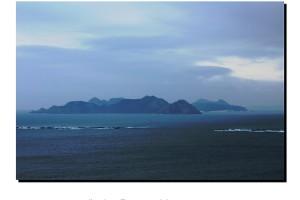 Islas en el mar Baiona – Imagen: Manuel Ramallo