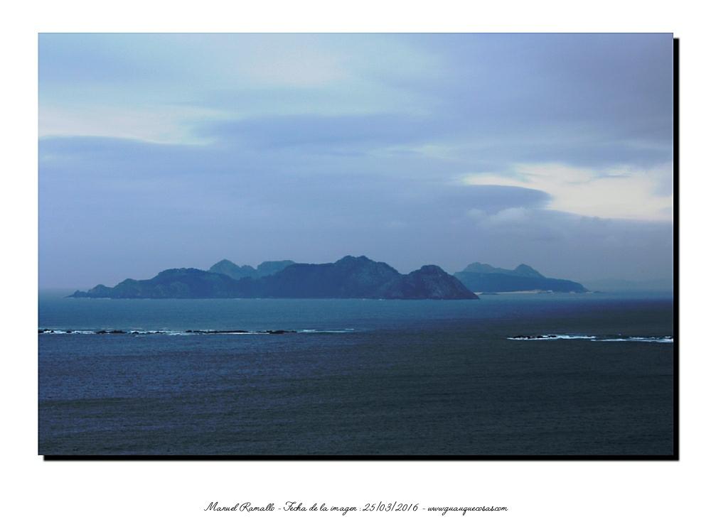 Islas en el mar Baiona - Imagen: Manuel Ramallo