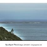 Mar y niebla en la costa de Galicia Baiona – Imagen: Manuel Ramallo