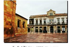 Museo Bellas Artes de Asturias Oviedo blanco y negro B&W – Imagen: Manuel Ramallo
