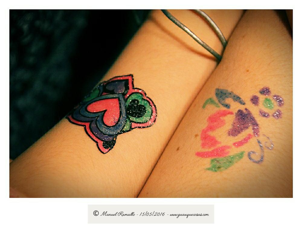 Tatuajes infantiles no permanentes - Imagen: Manuel Ramallo
