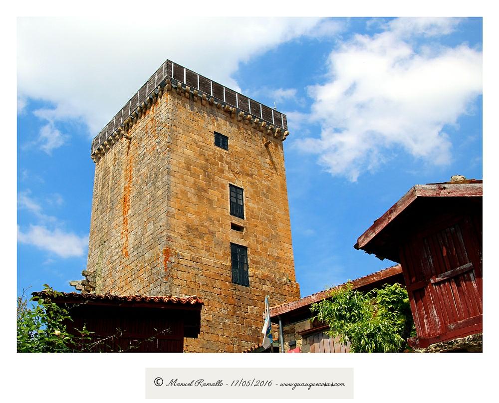 Torre de Vilanova dos Infantes Celanova - Imagen: Manuel Ramallo