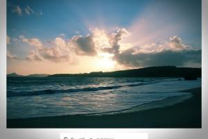Atardecer en playa de Nerga – Cangas do Morrazo – Pontevedra – Imagen: Manuel Ramallo
