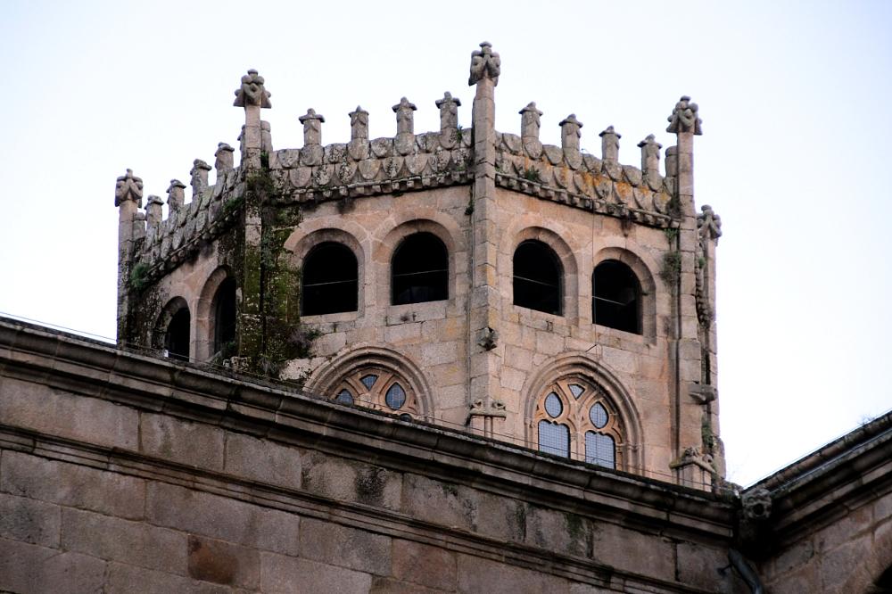 Cimborrio catedral Ourense Orense