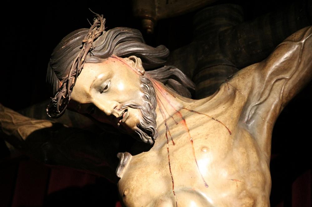 Cristo crucificado parroquia Santo Domingo Ourense Orense