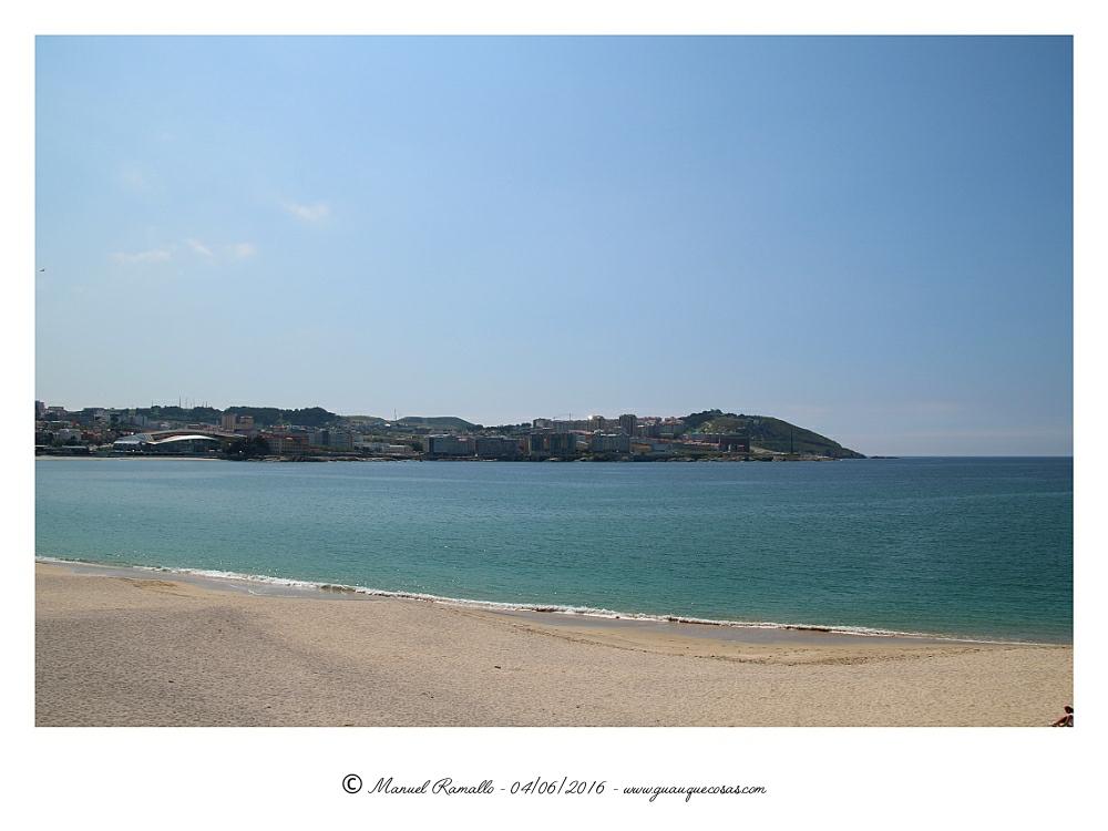Monte de San Pedro desde el Paseo Marítimo Orzán A Coruña - Imagen: Manuel Ramallo