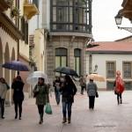 Tarde de lluvia en Oviedo