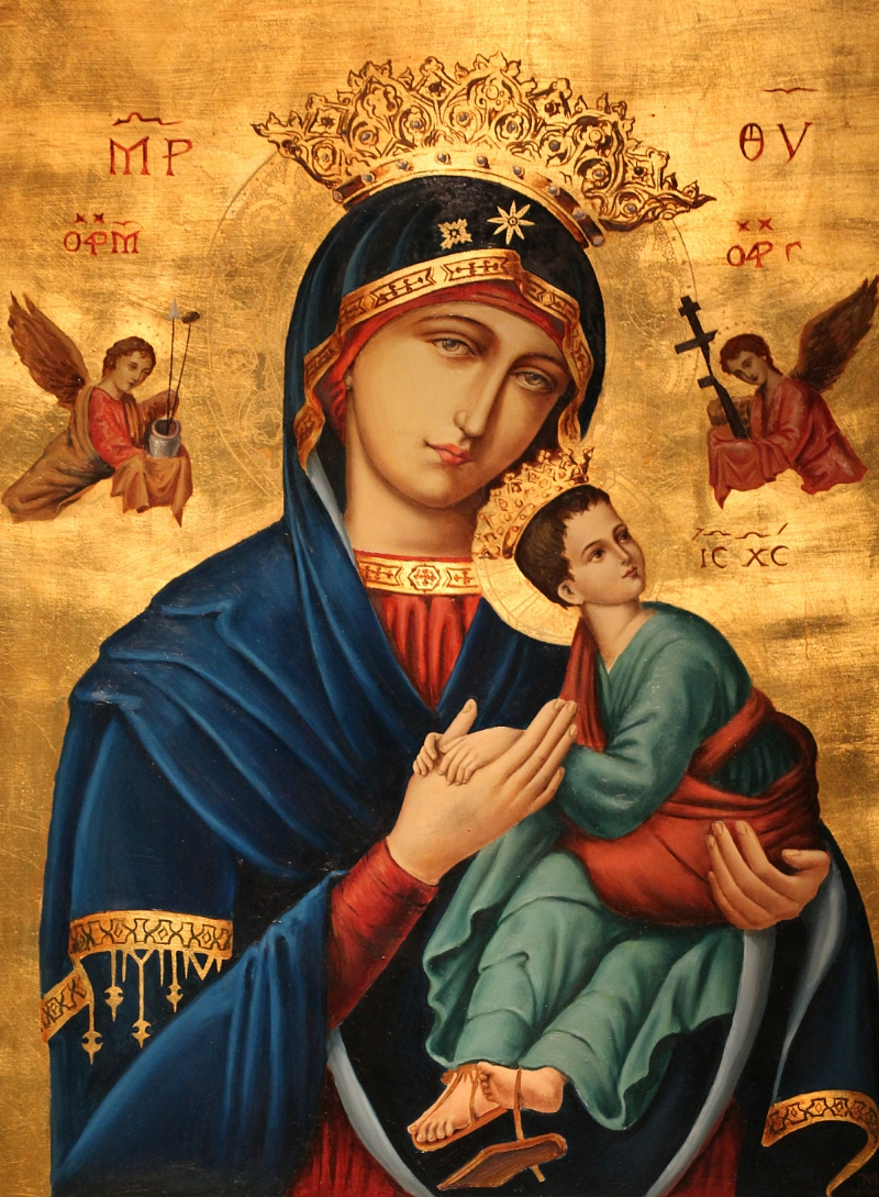 Virgen-con-niño-Jesús-Iglesia-parroquia-de-Santo-Domingo-Ourense-Orense