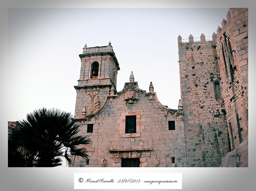 Castillo Peñíscola Papa Luna fortaleza