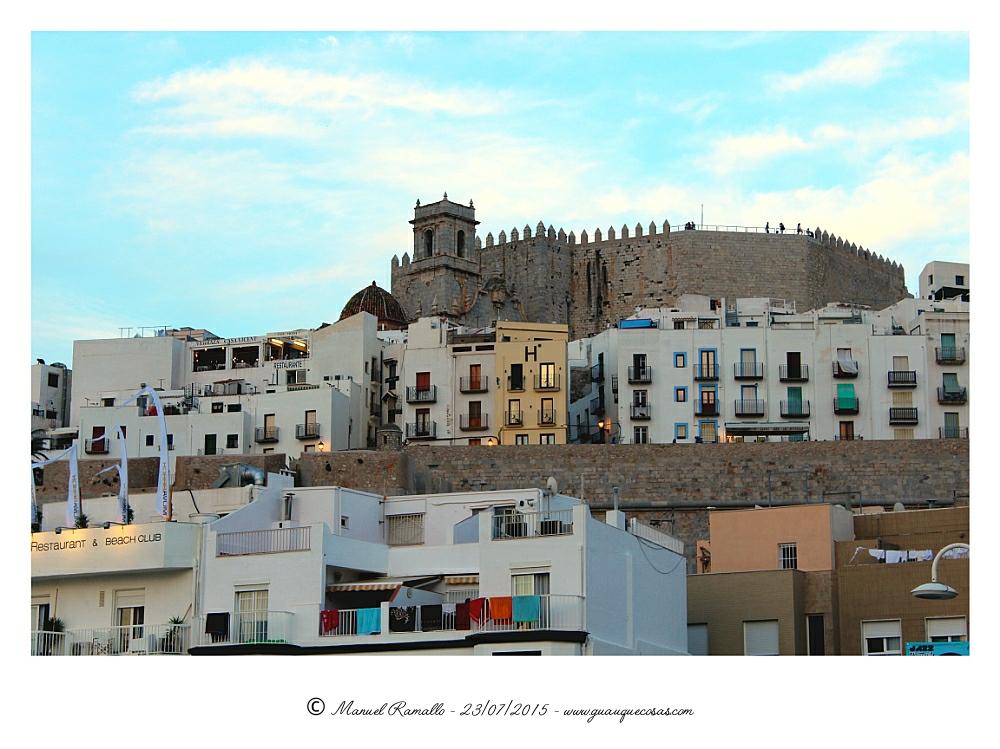 Peñíscola fortaleza atardecer verano playa - Imagen: Manuel Ramallo