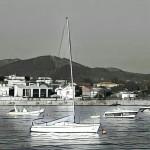 Puerto Panxón barcas Artwork Autor Manuel Ramallo 133