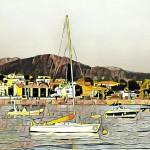 Puerto Panxón barcas Artwork Autor Manuel Ramallo 136
