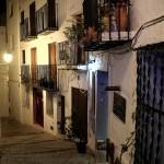 Fachada de casa en Peñíscola farola balcón Autor Manuel Ramallo
