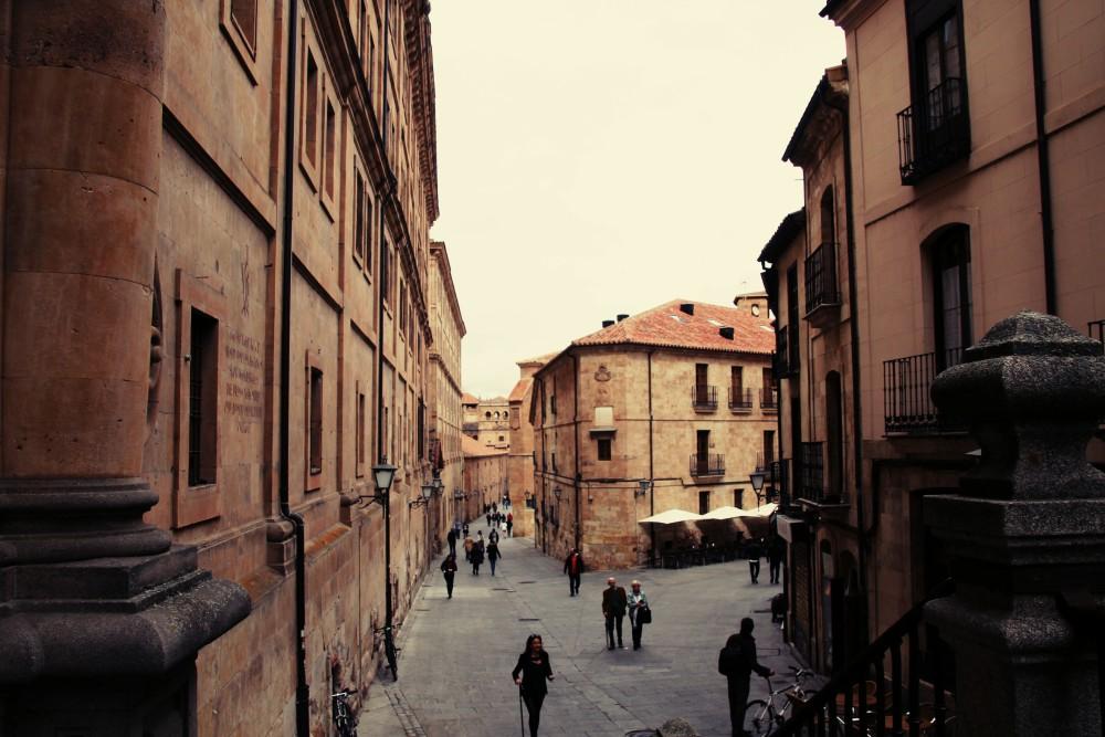 Calles de Salamanca autor Manuel Ramallo