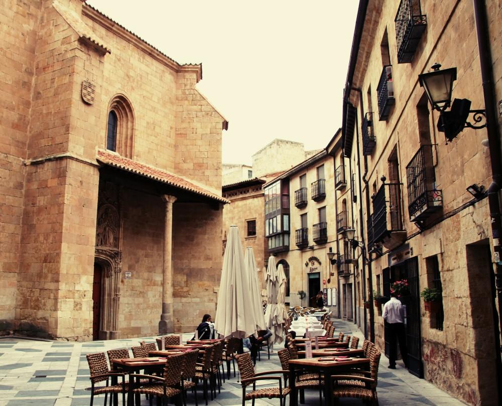 Plaza de San Benito en Salamanca autor Manuel Ramallo