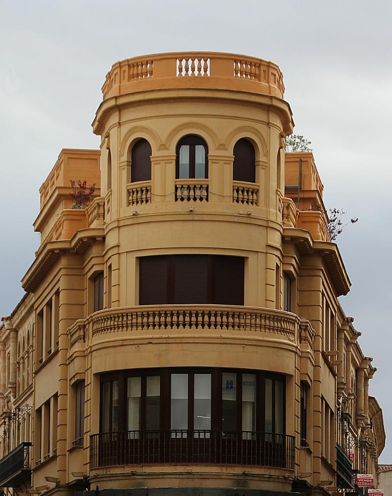 Salamanca Plaza de los Bandos fachada Autor Manuel Ramallo