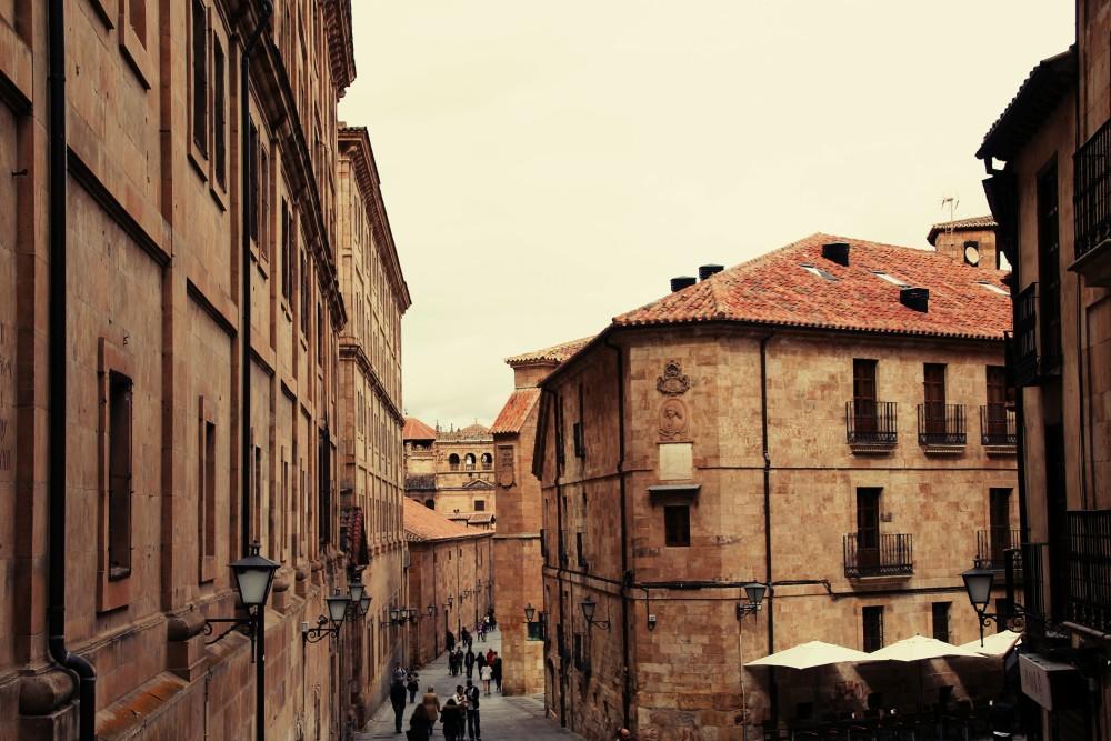 Salamanca eterna calle casco antiguo autor Manuel Ramallo