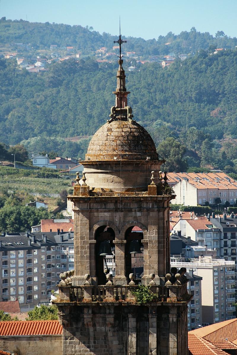 Torre campanario catedral de Orense Ourense Galicia España