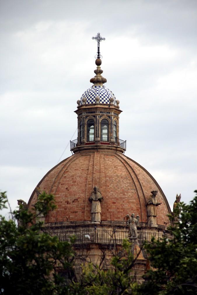 Cúpula de la catedral de Jerez Cádiz arquitectura autor Manuel Ramallo