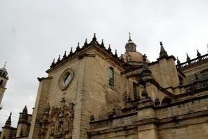 Catedral de Jerez Cádiz fachada cúpula gárgola autor Manuel Ramallo
