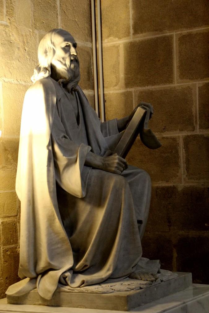 Catedral de Jerez de la Frontera escultura Cádiz autor Manuel Ramallo