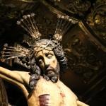 Cristo en la cruz catedral Jerez de la Frontera Cádiz autor Manuel Ramallo