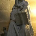 Escultura en catedral de Jerez de la Frontera Cádiz autor Manuel Ramallo