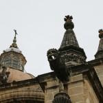 Fachada catedral Jerez gárgolas autor Manuel Ramallo