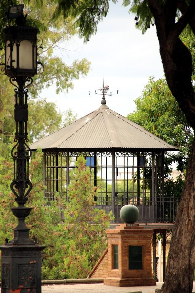 Palco de la música Jerez en otoño Cádiz autor Manuel Ramallo