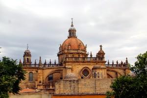 Panorámica catedral de Jerez arquitectura Cádiz autor Manuel Ramallo