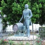 Tío Pepe escultura Jerez Cádiz autor Manuel Ramallo