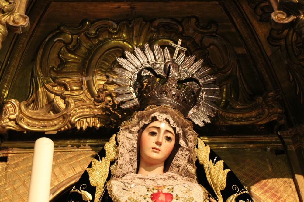 Virgen madre de nuestro Señor Jesucristo catedral de Jerez de la Frontera autor Manuel Ramallo