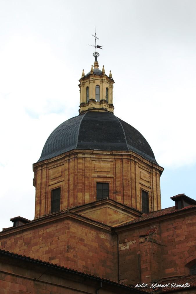 Cúpula de iglesia de la Purísima en Salamanca autor Manuel Ramallo
