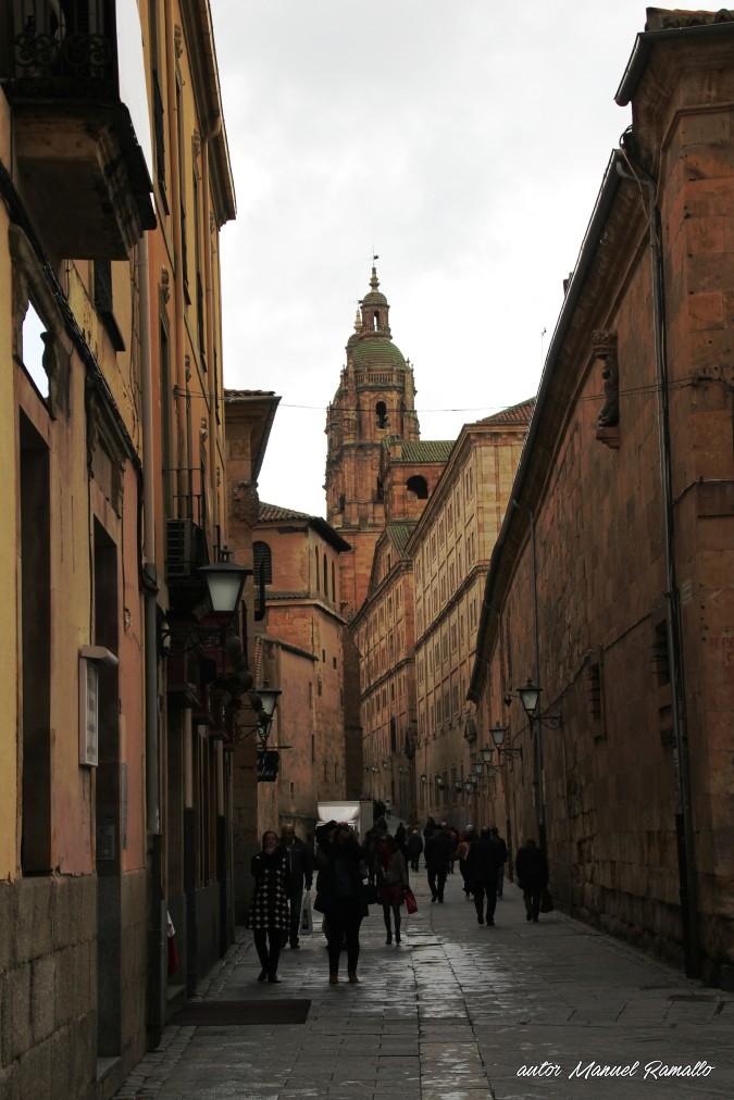 Calle de la Compañía - Salamanca autor Manuel Ramallo